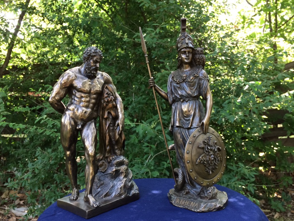 Herakles and Athena